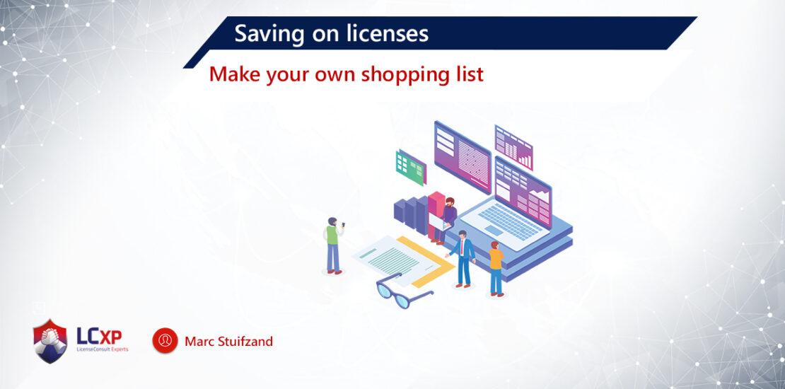 Blog Marc Saving on Licenses
